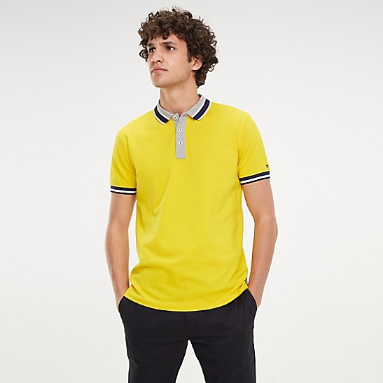 Tommy Hilfiger Contrast Tipped Regular Polo Shirt