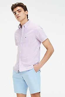 6a77900c58e4 Seersucker Short-Sleeve Shirt
