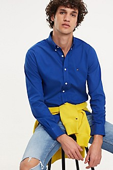 a9908b98 Stretch Twill Regular Fit Shirt. Quick View for Stretch Twill Regular Fit  Shirt. NEW. TOMMY HILFIGER