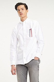 ff0699727b Men's Casual Shirts | Tommy Hilfiger USA