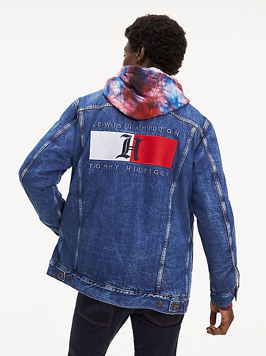 Lewis Hamilton Denim Jacket