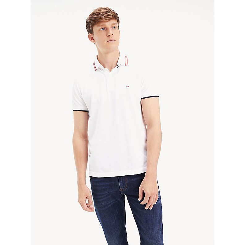 NEW Tonal Stripe Slim Fit Polo