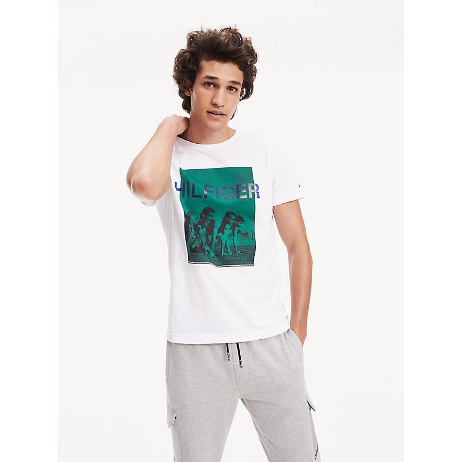 NEW TO SALE Organic Cotton Photo Print T-Shirt
