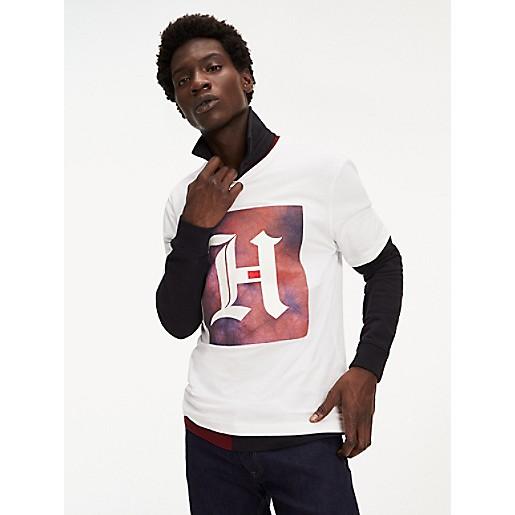 Tommy Hilfiger X Lewis Hamilton Flag T Shirt Tee M