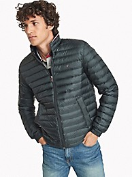 Down Packable Puffer Jacket   Tommy Hilfiger