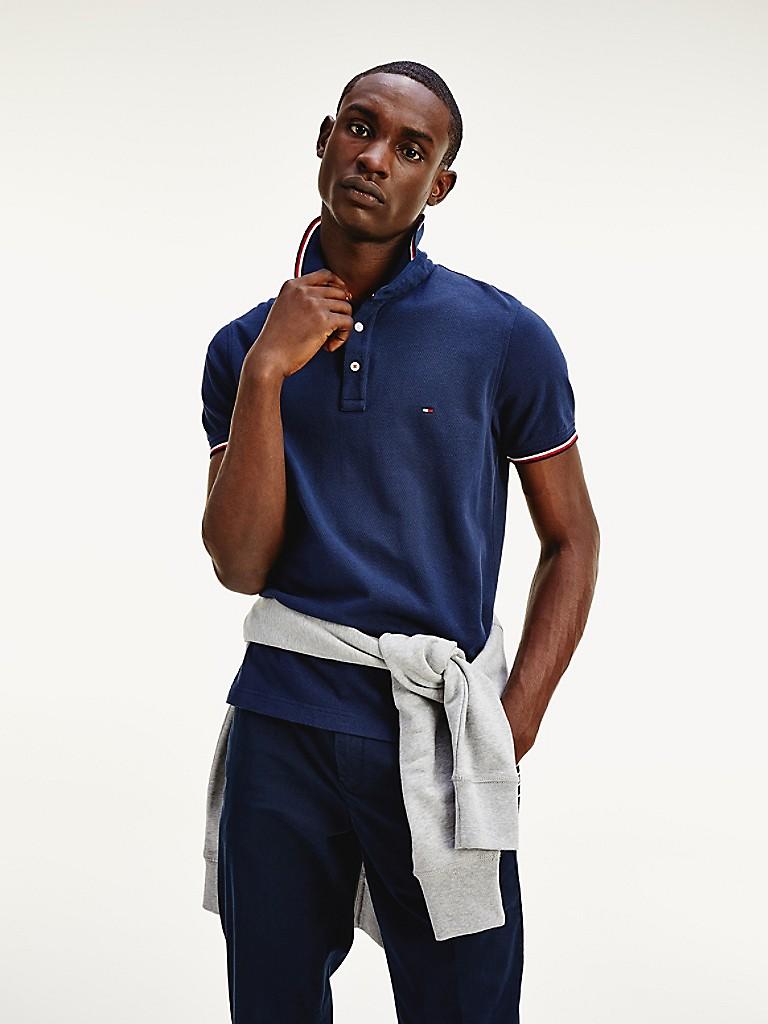 Slim Fit Organic Cotton Polo