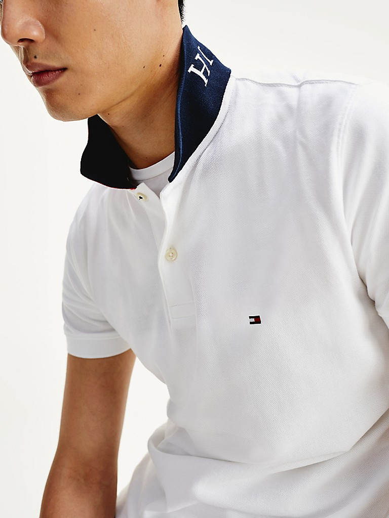 NEW TO SALE Regular Fit Monogram Collar Polo