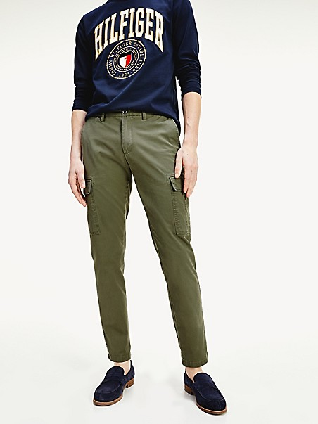 TOMMY HILFIGER Straight Fit Cargo Pant