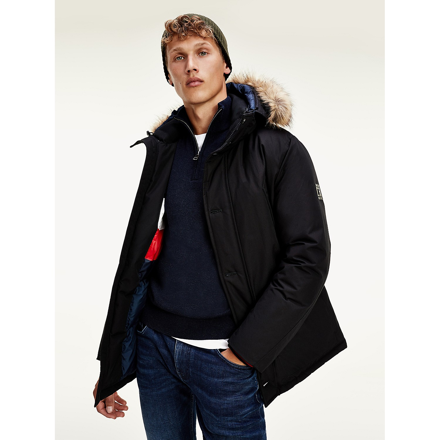 TOMMY HILFIGER Down Hooded Parka