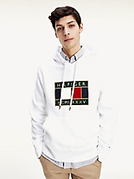 Tommy Icons Logo Embroidery Hoodie | Tommy Hilfiger