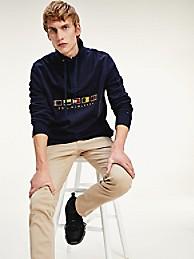 Icon Quarter Zip Flag Sweatshirt | Tommy Hilfiger