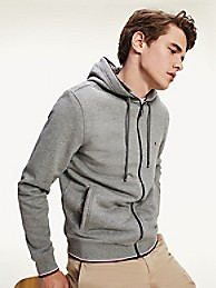 Organic Cotton Faux Fur-Lined Hoodie | Tommy Hilfiger