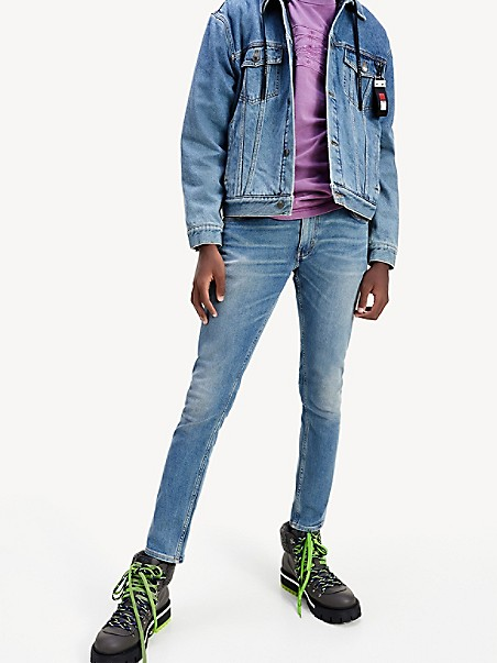 TOMMY HILFIGER Lewis Hamilton Slim Fit Recycled Jean