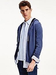 타미 힐피거 맨 집업 후디 스웨터 - 네이비 Tommy Hilfiger Organic Cotton Zip Hoodie Sweater mw17350