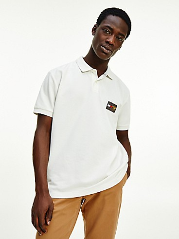 TOMMY HILFIGER Icon Regular Fit Organic Cotton Badge Polo