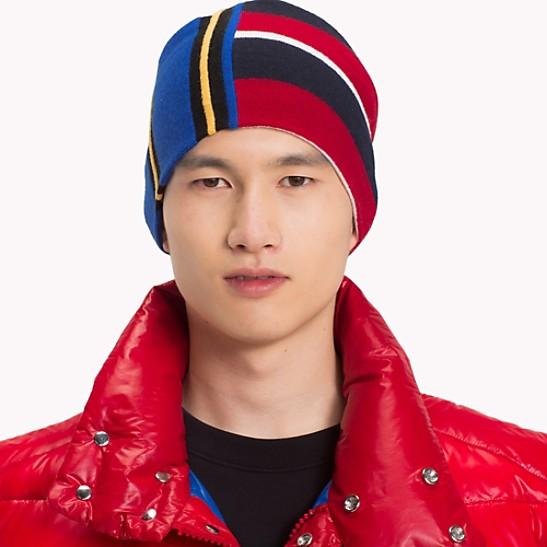 286b6fba9ff SALE Contrast Stripe Beanie Hat