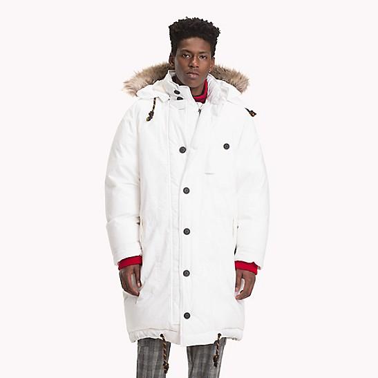 Hooded Down Parka Jacket