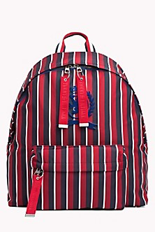 Striped Crest Backpack 46f88100e5964