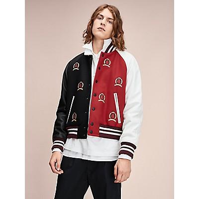 Hilfiger Collection Crest Varsity Jacket by Tommy Hilfiger