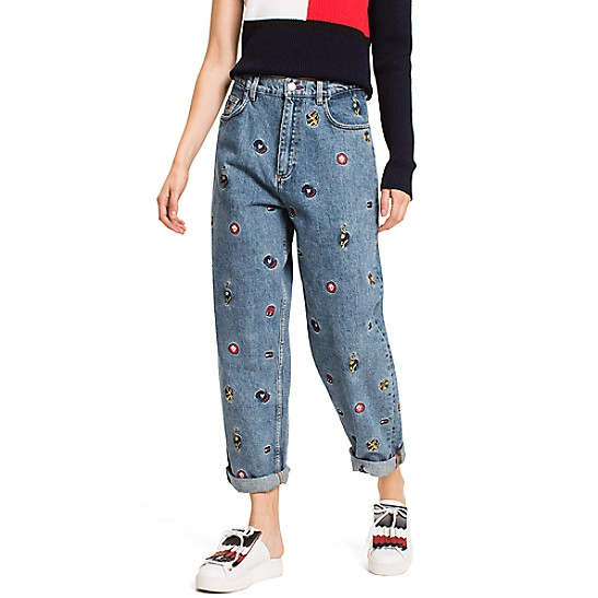 Critter Print Jean - Sales Up to -50% Tommy Hilfiger Sale Wholesale Price 7nqlk4b0