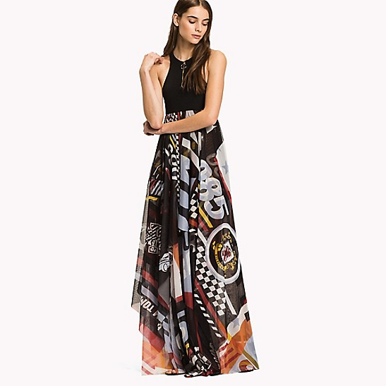 d3ea2483bdf Racing Logo Maxi Dress | Tommy Hilfiger