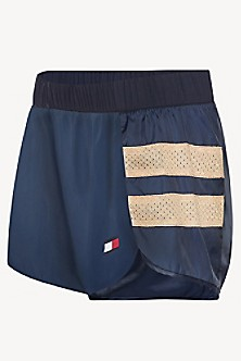 4e3e3889 Tommy Sport Mesh Panel Running Short