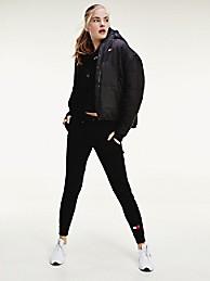 타미 힐피거 Tommy Hilfiger Performance Insulated Jacket,BLACK