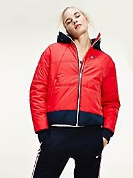 타미 힐피거 Tommy Hilfiger Performance Insulated Jacket,PRIMARY RED