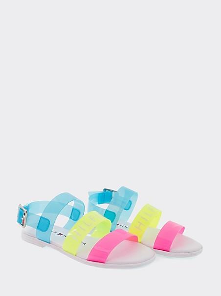 TOMMY HILFIGER TH Kids Rainbow Strap Sandal