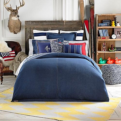 All American Denim Comforter Set Tommy Hilfiger