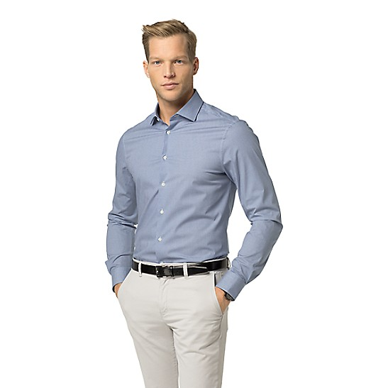 99a259a7f Final Sale-Th Flex Tailored Collection Slim Fit Shirt | Tommy Hilfiger