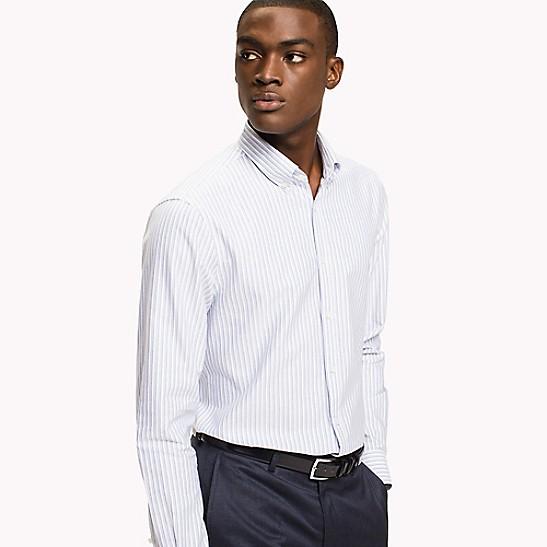 1eb281fdd9a Stripe Slim Fit Dress Shirt | Tommy Hilfiger
