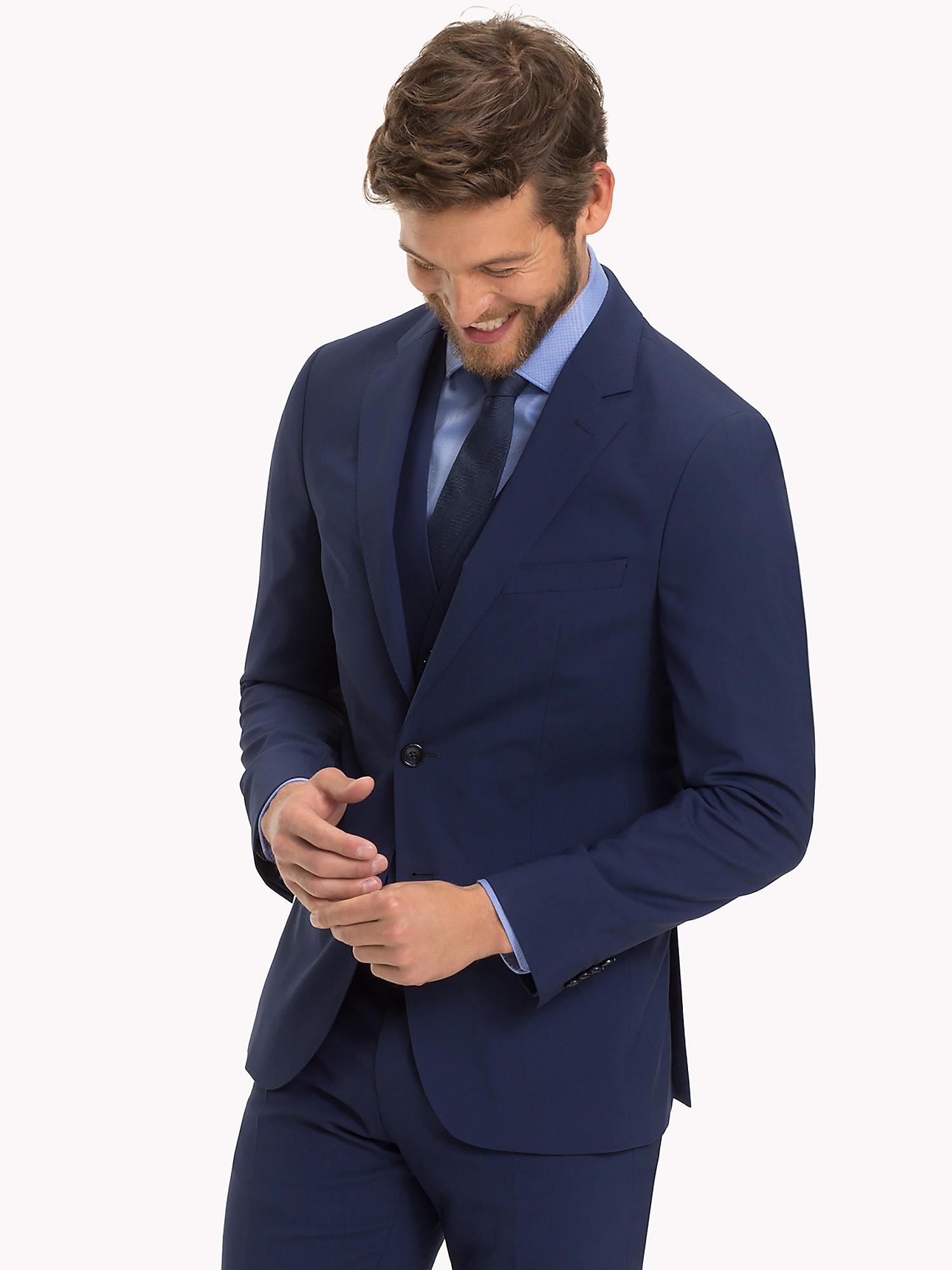 Tommy Hilfiger Men's Slim Fit Virgin Wool Blazer