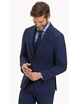 Tommy Hilfiger Tailored Slim Fit Virgin Wool Men's Blazer