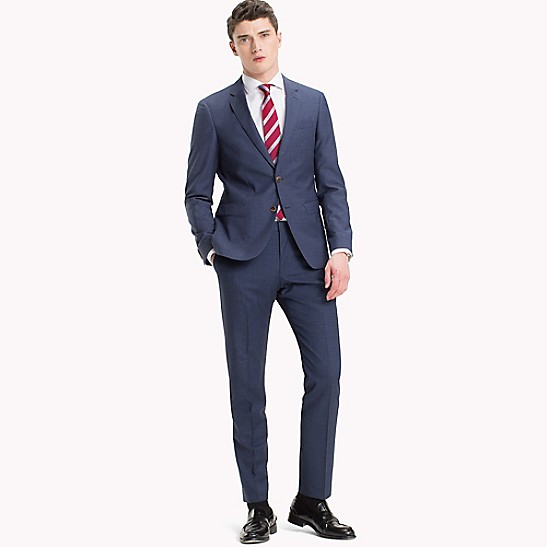 Slim Fit Virgin Wool Suit Trousers - Sales Up to -50% Tommy Hilfiger uOfBQIYznQ