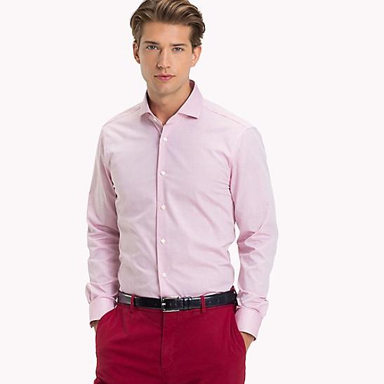 730d6c4eb01 Dobby Slim Fit Dress Shirt | Tommy Hilfiger