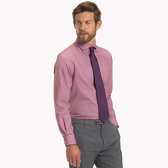 49d1a2b9 Classic Cotton Dress Shirt   Tommy Hilfiger