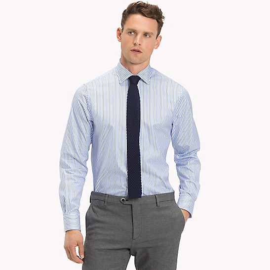 Ithaca Stripe Regular Fit Dress Shirt