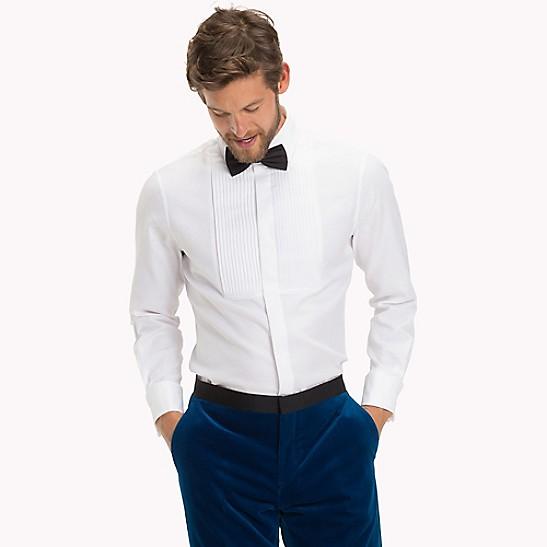 tommy hilfiger french cuff shirt