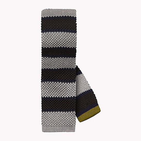 84ec1ef5 Slim Width Knit Tie   Tommy Hilfiger
