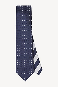 687dc707 Slim Width Silk Dot Tie. Quick View for Slim Width Silk Dot Tie. NEW. TOMMY  HILFIGER
