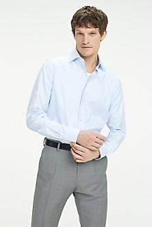 5db720356232 Cotton Dobby Regular Fit Dress Shirt