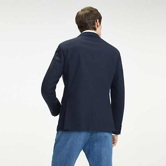 f75ee229 TH Flex Cotton Slim Fit Blazer | Tommy Hilfiger