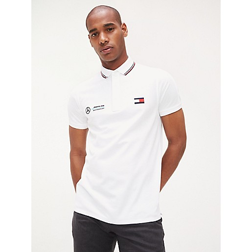 TOMMY HILFIGER SLIM FIT POLO CLASSIC WHITE. #tommyhilfiger