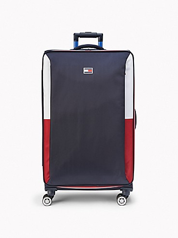 타미 힐피거 캐리어 Tommy Hilfiger 28 Soft Case Luggage,NAVY