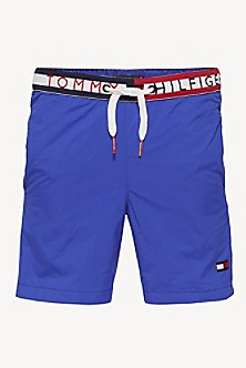 2023877e30081 TH Kids Signature Waist Swim Trunk