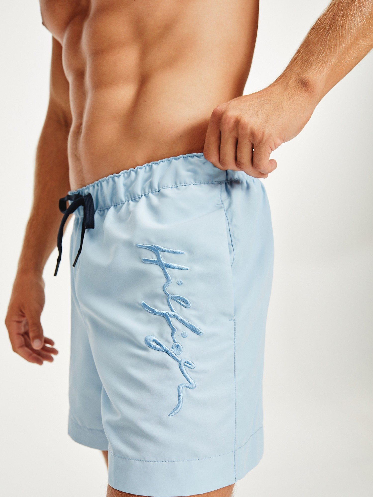 TOMMY HILFIGER Recycled 7 Signature Swim Trunk