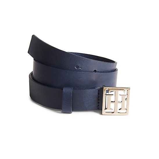 Statement Buckle Leather Belt - Sales Up to -50% Tommy Hilfiger hU0n6jvug
