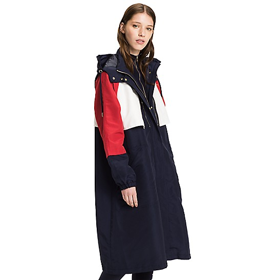 4c0e79e8 Long Colorblock Parka | Tommy Hilfiger