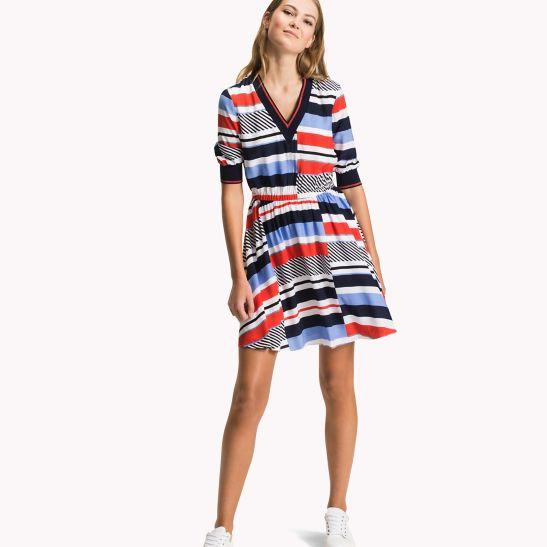 Off-Shoulder Dress - Sales Up to -50% Tommy Hilfiger